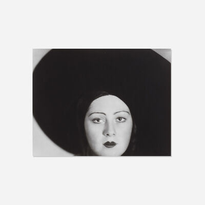 Lotte Jacobi, 'Head of a Dancer (Niuta Norskaya)', 1929