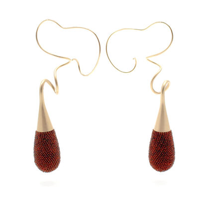 Jacqueline Lillie, 'Tendril Earrings', 2016
