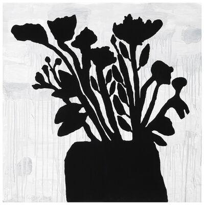 Donald Baechler, 'Flowers in a Vase', 2009