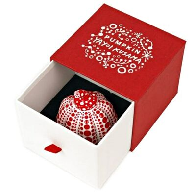 Yayoi Kusama, 'Red Pumpkin (Artist Designed & Authorized Naoshima Edition) in artist designed gift box', 2015