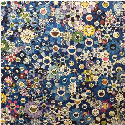 Takashi Murakami, 'Shangri-la Blue', 2016