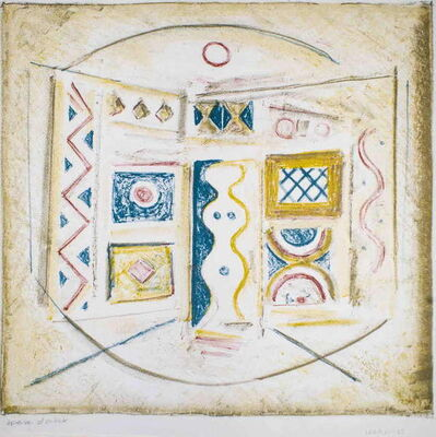 Massimo Campigli, 'La Camera Gialla', 1965
