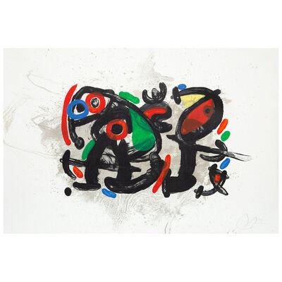 Joan Miró, 'La Ronde de Nuit', 1970