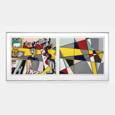 Roy Lichtenstein, 'Tel Aviv Museum print (Cortlett 238)', 1989
