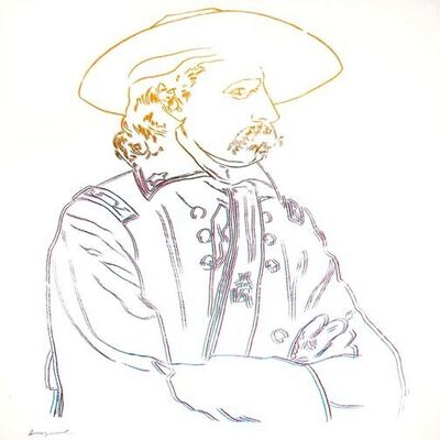 Andy Warhol, 'C & I: General Custer, II.379', 1986