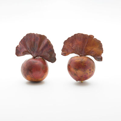 Claude Lalanne, 'Little Apple Earrings', 2017