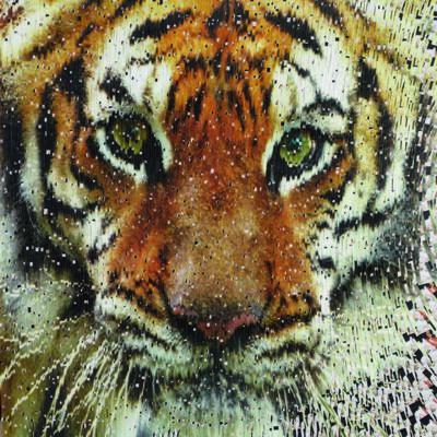 David Mach, 'Tigresse', 2012