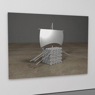 George Blaha, 'LM (lunar module)', 2017