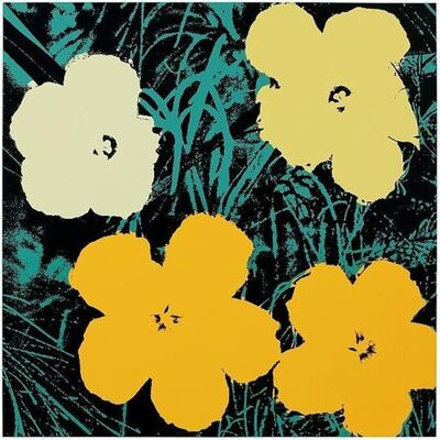Andy Warhol, 'Flowers - Sunday B. Morning (After)'