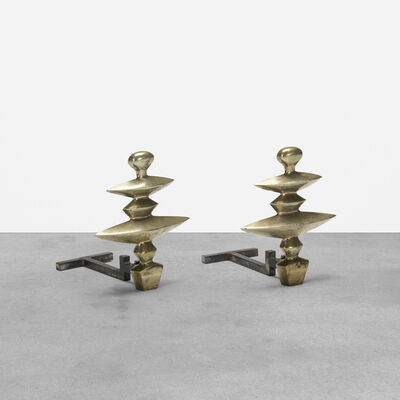 After Alberto Giacometti, 'Andirons, Pair', 1936
