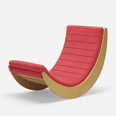 Verner Panton, 'Relaxer 2 rocking chair', 1974