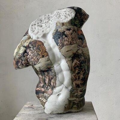 Fabio Viale, 'Kouros', 2020