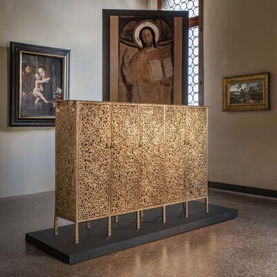 Ingrid Donat, 'Buffet Klimt Cinq Portes', 2019