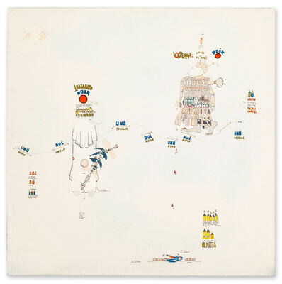 Gianfranco Baruchello, 'Indizi di discorsi paralleli', 1969