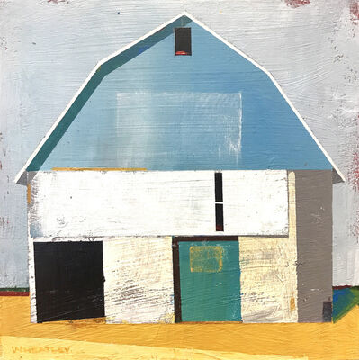 Justin Wheatley, 'Blue and Gold', 2018
