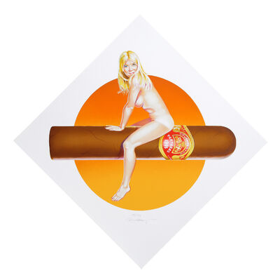Mel Ramos, 'Hav a Havana II', 1999