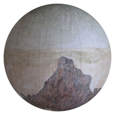 Russell Crotty, 'Sandstone Formation with Wildfire Diffusion', 2007