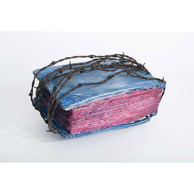 Barton Lidice Benes, 'Untitled (Barbed Wire-Bounded Book)', 1973