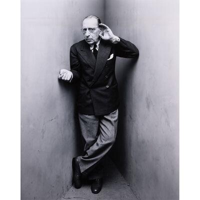 Irving Penn, 'Igor Stravinsky, New York, 22 avril 1948-1976', 1948-1976