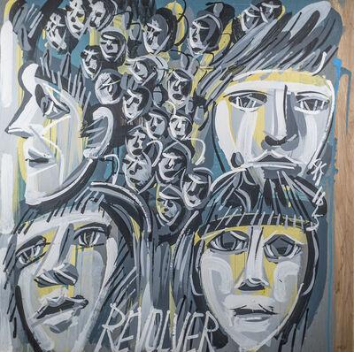 Steve Keene, 'Beatles - Revolver', 2015
