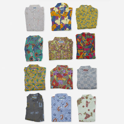 Memphis, 'Collection of twelve shirts', c. 1985