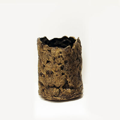 Mattia Biagi, 'Bronze Vase 02', 2017
