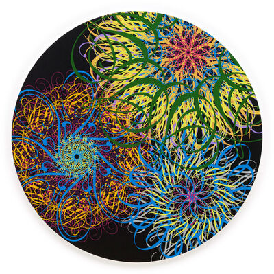 Ryan McGinness, 'Black Hole (Dark Energy, Black)', 2014