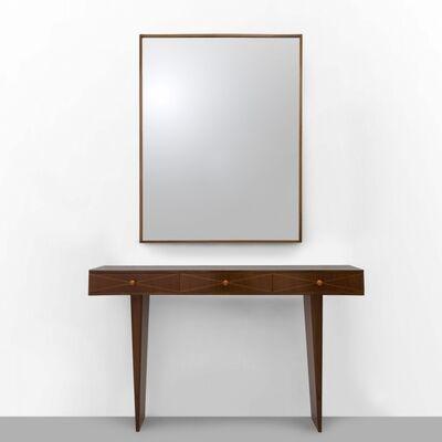 Osvaldo Borsani, 'Console and mirror', circa 1939