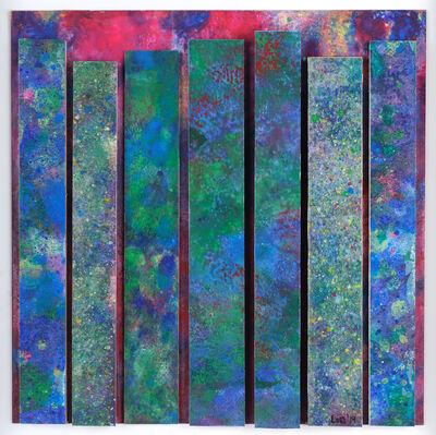 Lou Stovall, 'Green & Magenta', 2019