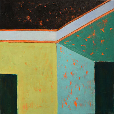 Adrianne Lobel, 'Green House Corner 2', 2018