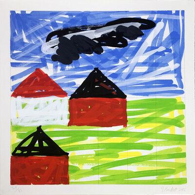 Jennifer Losch Bartlett, 'House II #4', 2014-2015