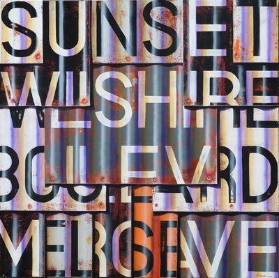 Ross Tamlin, 'Sunset Blvd B&W', 2016