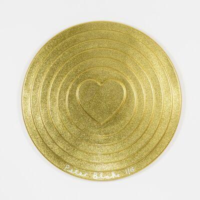 Peter Blake, 'Gold Target (metal flake)', 2017