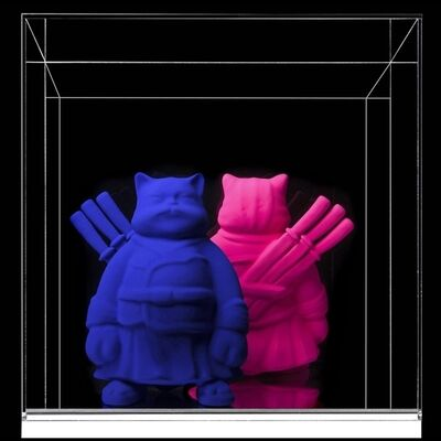 Hiro Ando, '(KFS) Minicat Pigments Duo', 2015