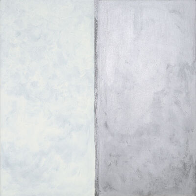 Pat Steir, 'White and Silver', 2019