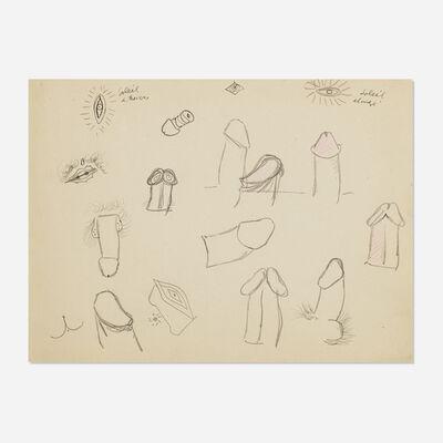 John Graham, 'Untitled (Erotic Drawing)', c. 1941