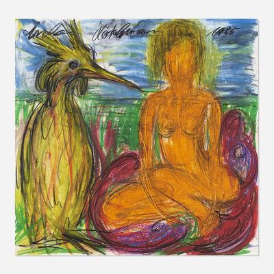 Antonius Höckelmann, 'Woman with Ibis', 1985