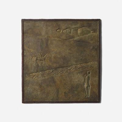 Alberto Giacometti, 'Femme Nue et Cavalier Dans un Paysage', c. 1931