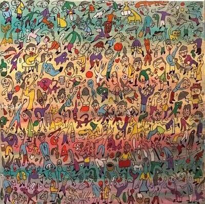 Philippe Simille, '(ATH) Rainbow', 2017