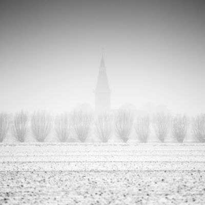 Frank Peters, 'Church in the Mist', 2019