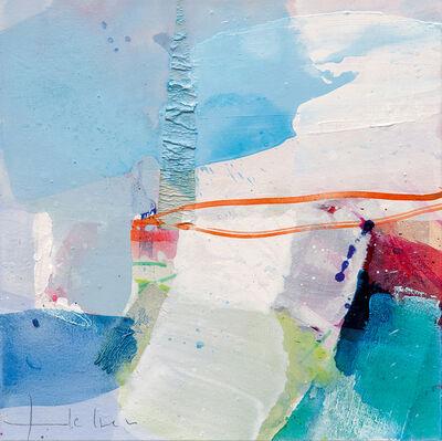 Greet Helsen, 'Verträumte Landschaft (Abstract Expressionism painting)', 2015