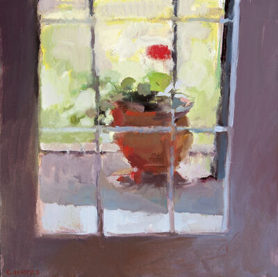 Connie Hayes, 'Home Geraniums #1'