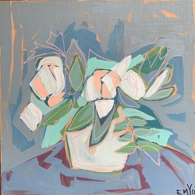 EMYO, 'Flower Pot I', 2019
