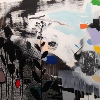 Emily Filler, 'Dreamscape (black + white + rainbow) III', 2018