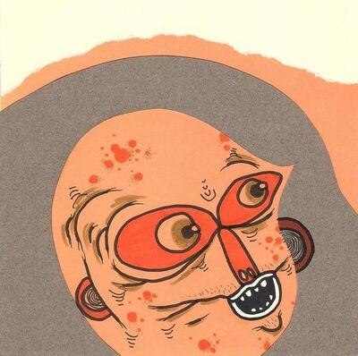 Okay Mountain, '7x7 Collaborative Drawing (#74)', 2011