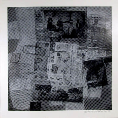Robert Rauschenberg, 'Surface Series From Currents, #37 and #50', 1970