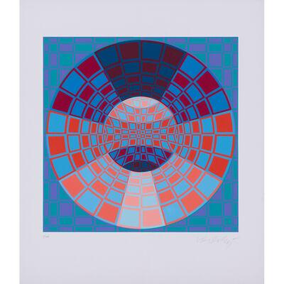 Victor Vasarely, 'Pixis', Circa 1980