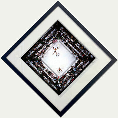Neil Leifer, 'Ali-Williams (Overhead)', 1966