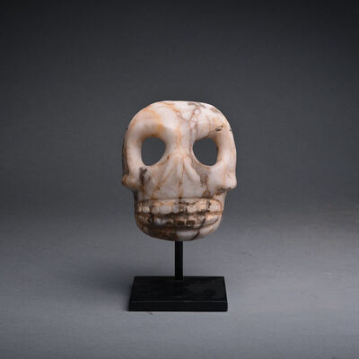 Unknown Pre-Columbian, 'Stone Skull Maskette'