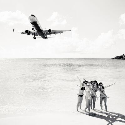 Josef Hoflehner, 'Jet Airliner 64, US Airways Boeing 757-200, St. Maarten', 2011